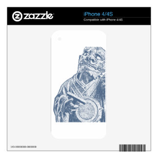 Demonio japonés, siglo XVIII Skins Para eliPhone 4S
