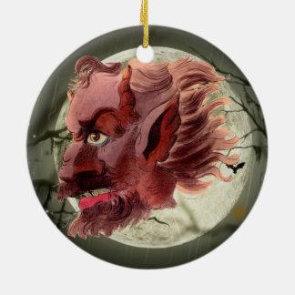 Demonio malvado adornos de navidad