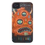 Demonio rojo Case-Mate iPhone 4 funda