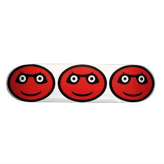 """Demonio rojo Emoji Patineta 8 1/8"""""""