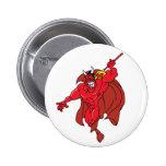 Demonio rojo vengativo pins