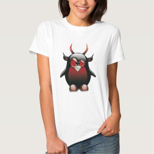 Demonio Tux (Linux Tux) T Shirt
