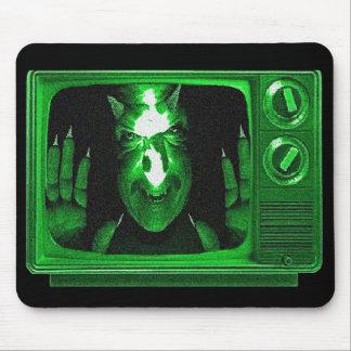 Demonio TV. Mousepad Tapete De Ratón