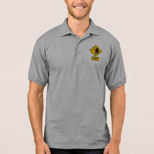 Demonio XING Polo Camiseta