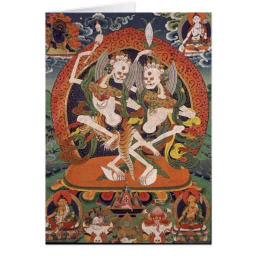 Demonios del baile tarjeton