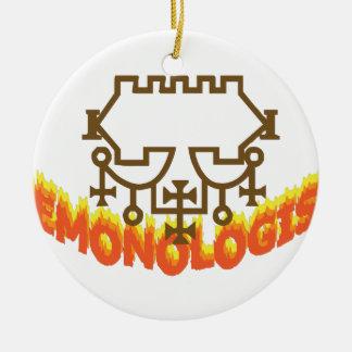 Demonologist Ceramic Ornament