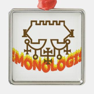 Demonologist Metal Ornament