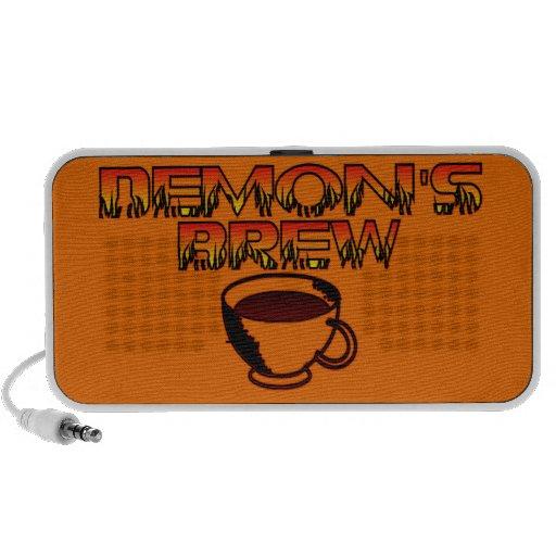 Demons Brew Doodle Speaker-Orange Notebook Speaker