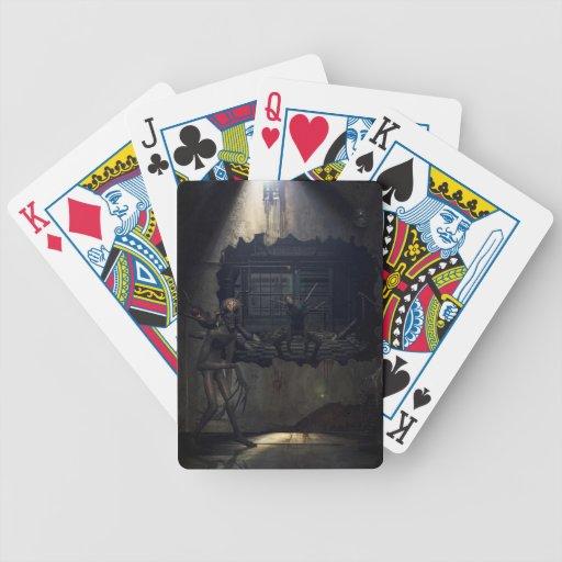 Demons come out to play baraja cartas de poker