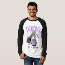 demons do it better Light Raglan T Shirt