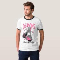 demons do it better Light Ringer T Shirt