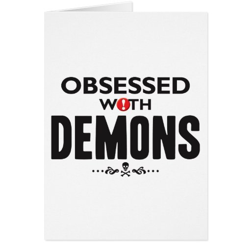 Demons Obsessed Card