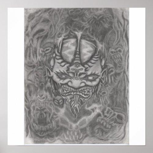 demons print