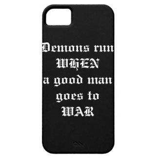Demons Run Iphone case