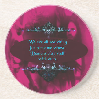 Demons to Play With - A Truism Drink Coaster