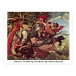 Demons Tormenting St.Anthony By Niklaus Manuel Postcard
