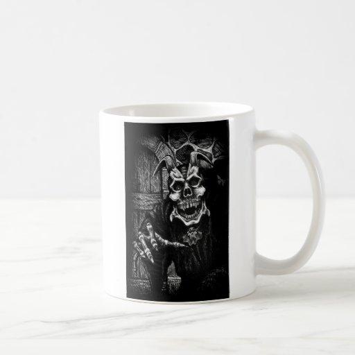 demonskull taza de café