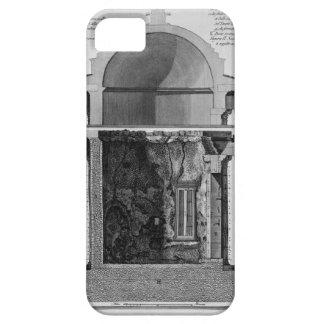Demonstration of cross-section diameter iPhone SE/5/5s case