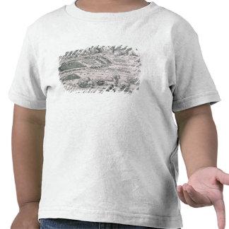 Demonstration of defensive measure tshirts