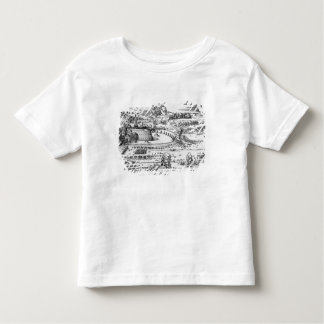 Demonstration of defensive measures toddler t-shirt