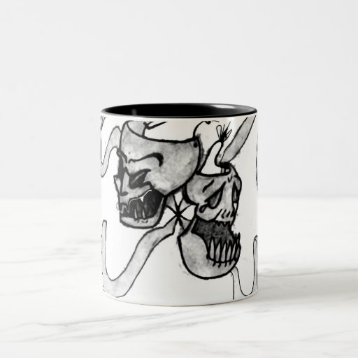 DemonTheatricsOrigional Two-Tone Coffee Mug