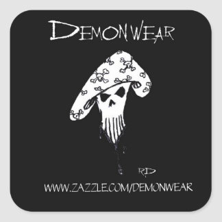 DemonWear Promo Stickers