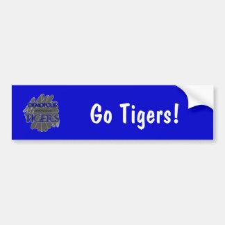 Demopolis High School Tigers - Demopolis, AL Car Bumper Sticker