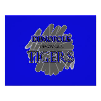Demopolis High School Tigers - Demopolis, AL Card