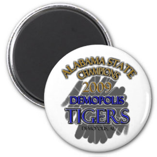 Demopolis Tigers 2009 Alabama State Champions! Magnet