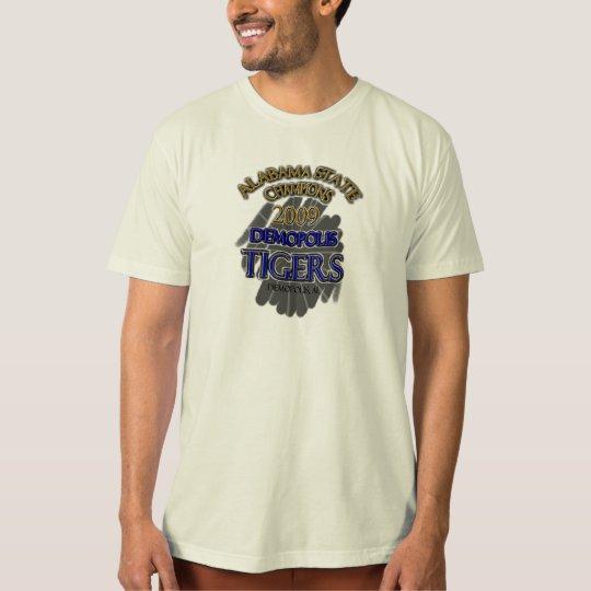 Demopolis Tigers 2009 Alabama State Champions! T-Shirt