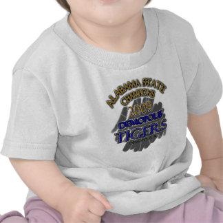 Demopolis Tigers 2009 Alabama State Champions! Tshirts