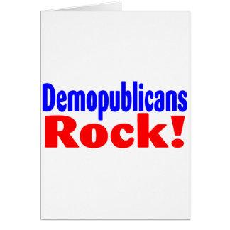 Demopublicans Rock Greeting Card