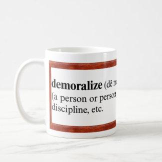 Demoralize Mug
