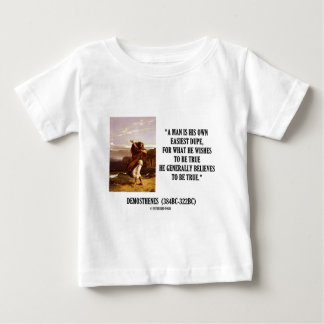 Demosthenes Own Easiest Dupe Wishes To Be True Baby T-Shirt