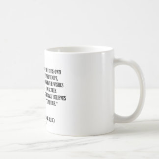 Demosthenes Own Easiest Dupe Wishes To Be True Classic White Coffee Mug