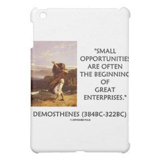 Demosthenes Small Opportunities Often Beginning iPad Mini Case