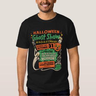 Demostración 1950 del fantasma de Halloween Remeras