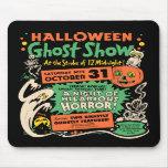 Demostración 1950 del fantasma de Halloween Alfombrillas De Raton