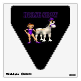Demostración 2 del caballo vinilo adhesivo