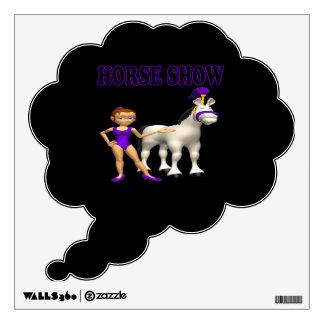Demostración 2 del caballo vinilo decorativo