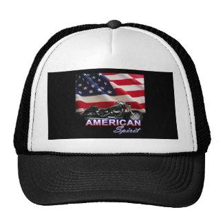 Demostración americana de la motocicleta del alcoh gorra