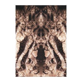 Demostración anormal lienzo envuelto para galerias