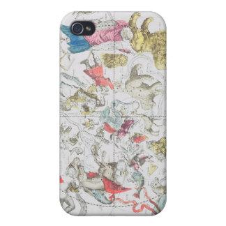 Demostración celestial las muestras del zodiaco iPhone 4 funda