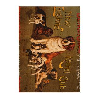 Demostración de banco. Club de la perrera de Nueva Papel De Corcho Para Fotos