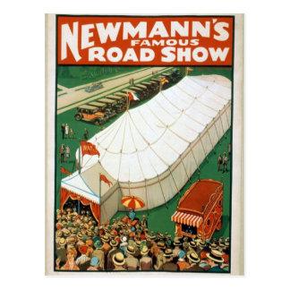 Demostración de camino famosa de Newmanns Postales