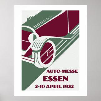 Demostración de coche retra del remake de los años impresiones