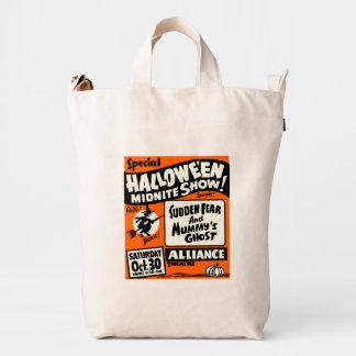 Demostración de Halloween Midnite Bolsa De Lona Duck