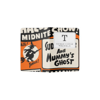 Demostración de Halloween Midnite Porta Pasaporte