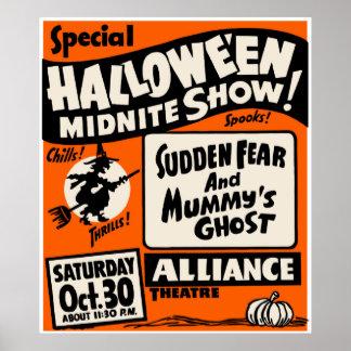 Demostración de Halloween Midnite Póster