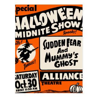 Demostración de Halloween Midnite Tarjetas Postales